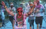 Massaal geklaag over Color Run-verf
