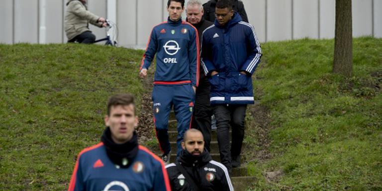 Feyenoord gaat spelers niet extra beveiligen