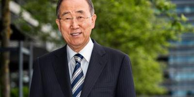 Ban Ki-moon ontvangt Gronings eredoctoraat