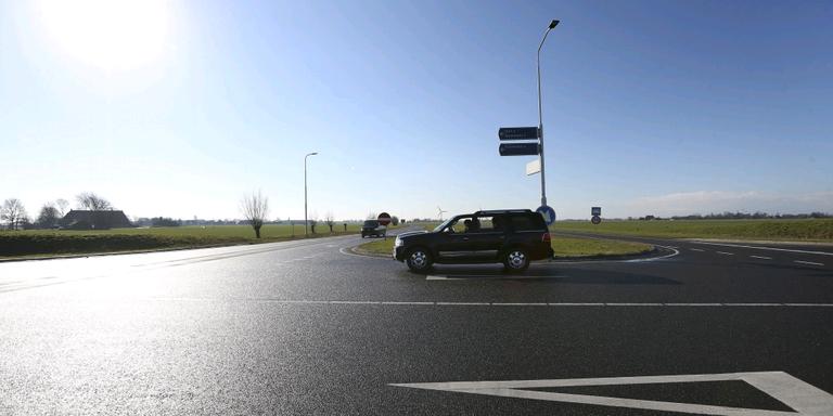 Het kruispunt Wommels-Noord in de N359. ,,Het lijkt allemaal heel overzichtelijk.