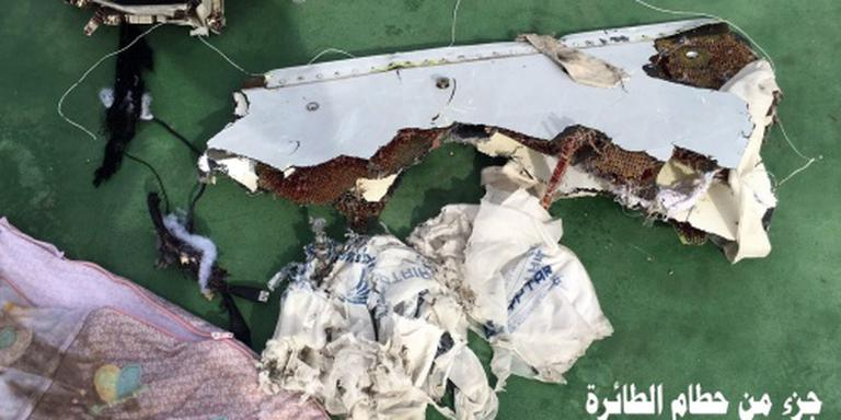'Toestel EgyptAir brak in de lucht'