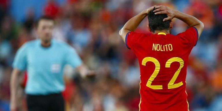 Spanje sluit af met nederlaag