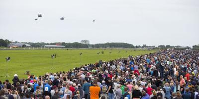 Open dag vliegbasis trekt 100.000 bezoekers
