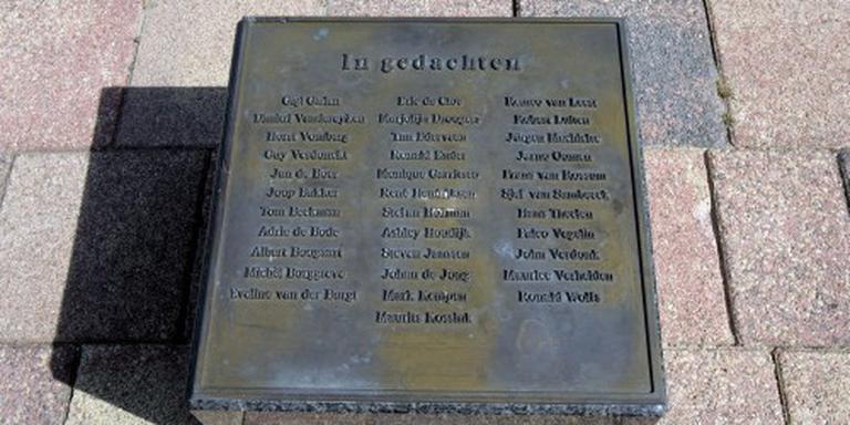 Nieuw monument voor slachtoffers Herculesramp