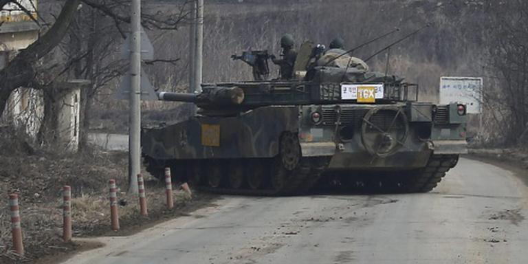 N-Korea schrikt Z-Korea op met artillerievuur