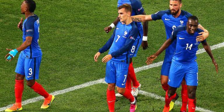Frankrijk voor derde keer in EK-finale