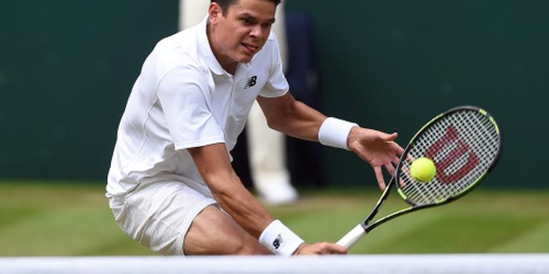 Tennisser Raonic mijdt Spelen vanwege zika