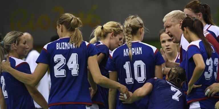 Olympisch goud voor Russische handbalsters