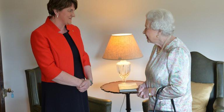 Ook Elizabeth ontmoet leiders Noord-Ierland