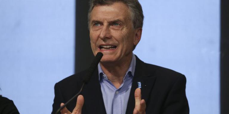 Argentijnse president Macri in ziekenhuis