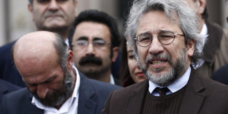 Turkse journalisten cel in voor reportage