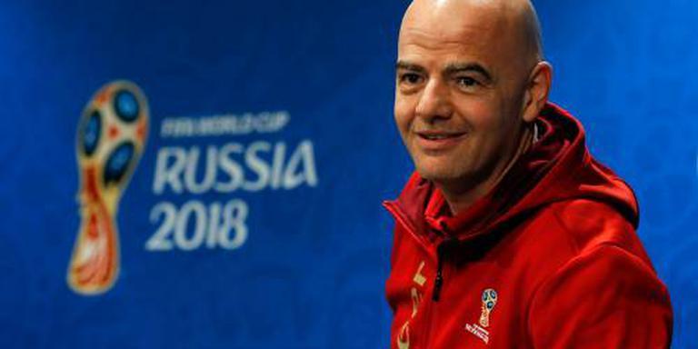 Infantino: beste WK uit de geschiedenis