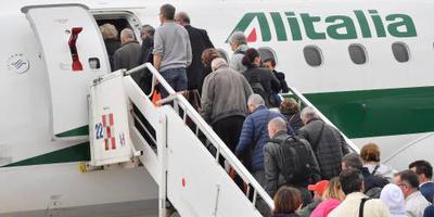 EasyJet haakt af voor belang Alitalia