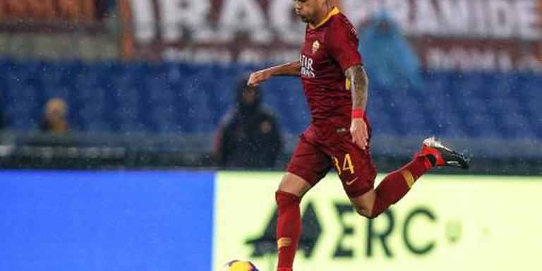 Kluivert op de bank bij AS Roma