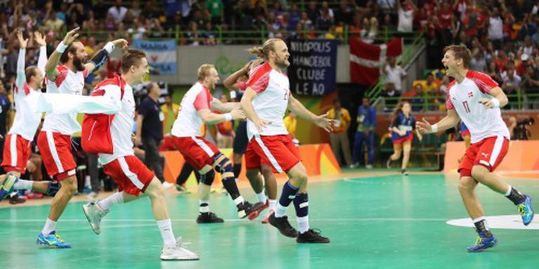 Handballers Denemarken onttronen Frankrijk