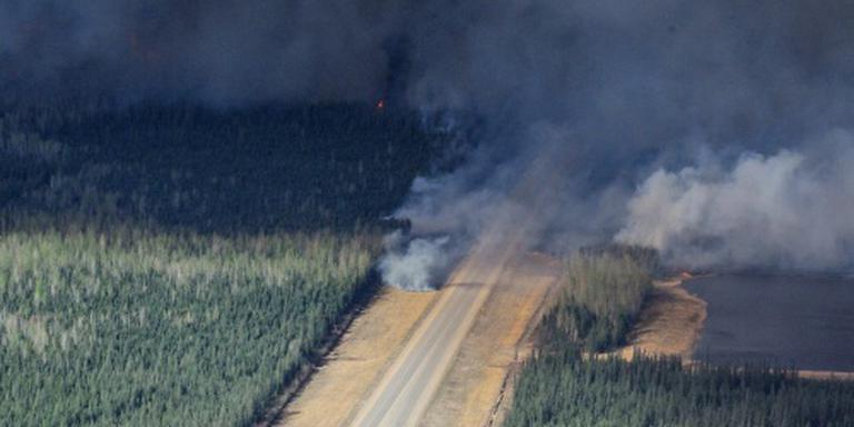 Bosbranden Fort McMurray ontstaan door mensen