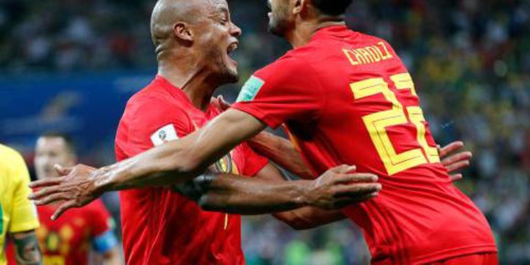 België schakelt titelkandidaat Brazilië uit