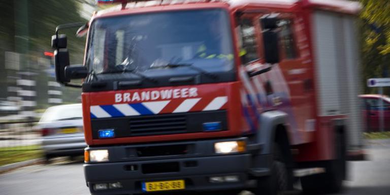 Uitslaande brand in oude school Amersfoort