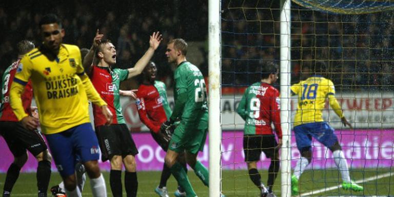 Eerste overwinning van SC Cambuur vorige week.