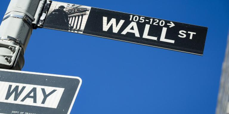 Wall Street kleurt rood