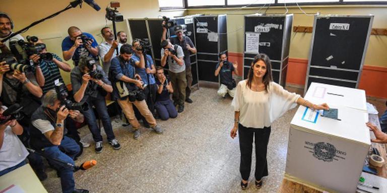 'Protestkandidate wint burgemeesterschap Rome'