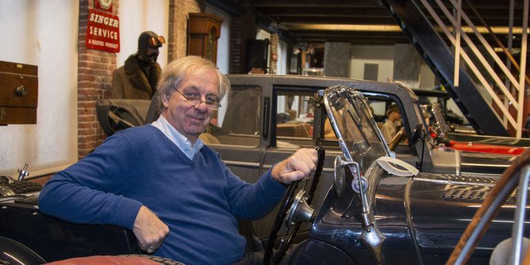 Museum Geersing zit in de Singer van James Bond-inspirator Merlin Minshall. FOTO LC/NIELS REMIGIUS