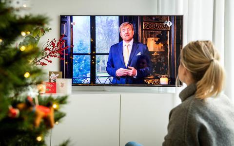 Dit is de kersttoespraak van koning Willem-Alexander, waarin hij pleit voor nuance in het coronadebat