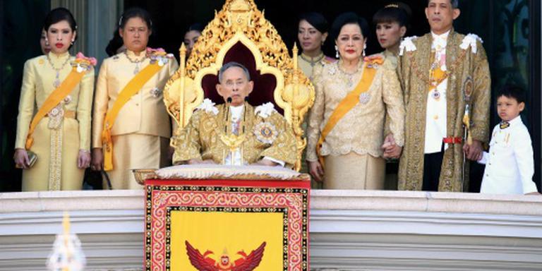 Thais koningspaar kwakkelt met gezondheid