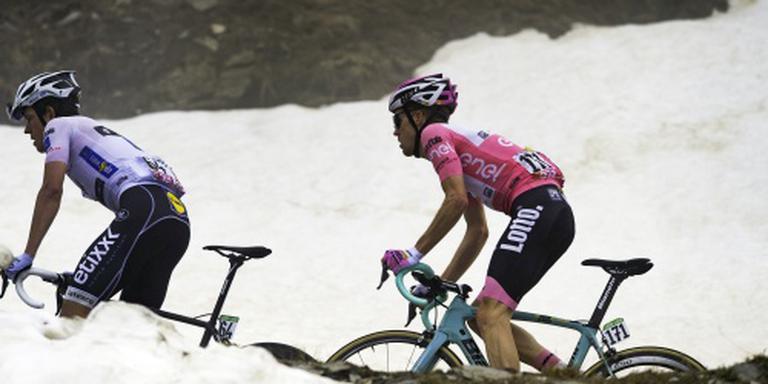 Kan Kruijswijk verder in de Giro of niet?