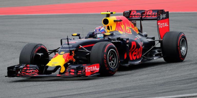 Vierde F1-podium Max Verstappen in Duitsland