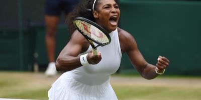 Serena Williams de beste op Wimbledon