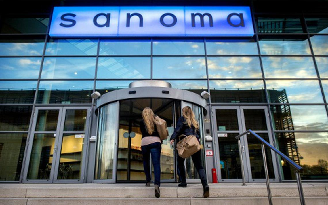 sanoma groeit in nederland en belgi economie