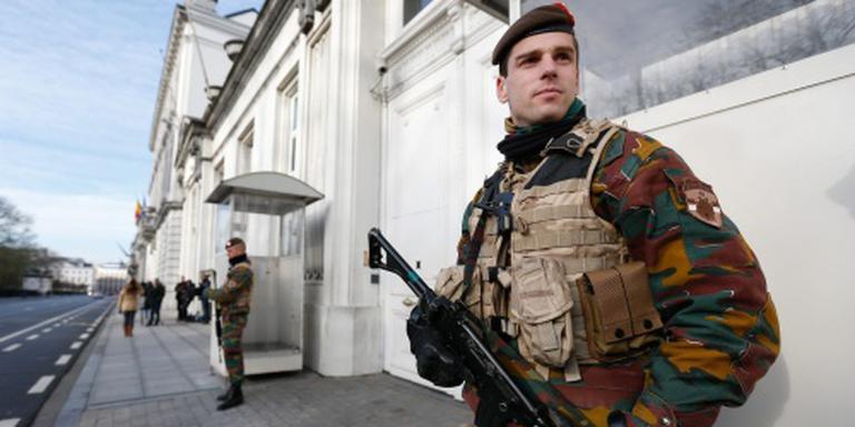 'Omgeving parlement Brussel ontruimd'