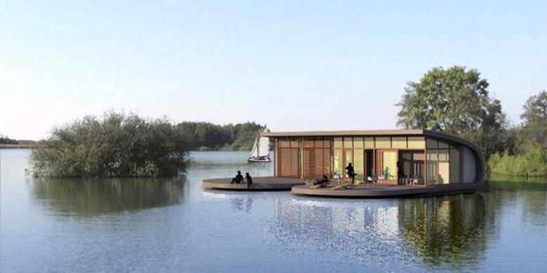 Na de fusie met noordelijk Boarnsterhiem kwam er een grote variatie aan vakantiehuizen bij in de gemeente Leeuwarden. FOTO LC