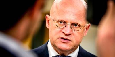 Minister Ferd Grapperhaus (Justitie). FOTO ANP