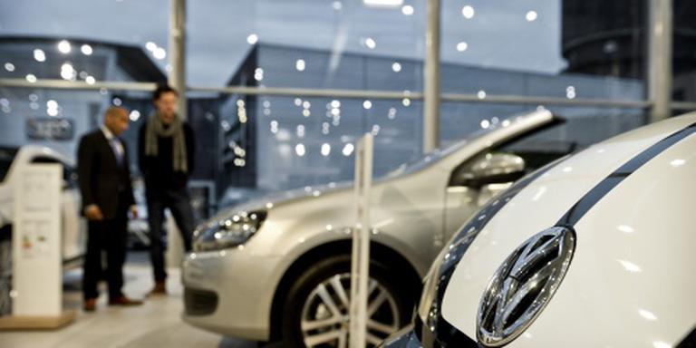 Autoverkopen nemen verder af