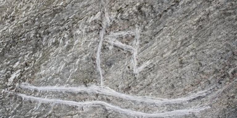 5000 jaar oude rotstekeningen vernietigd