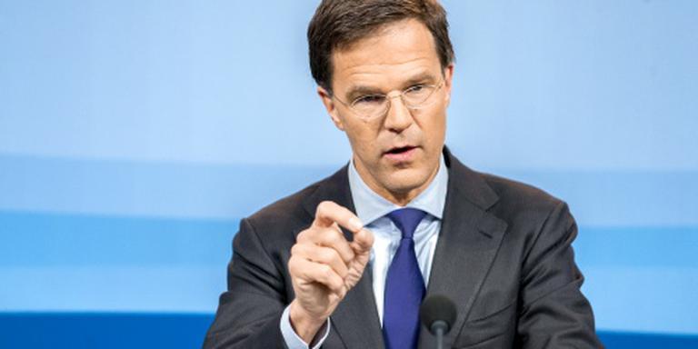 Rutte: Migratiestroom voor voorjaar omlaag