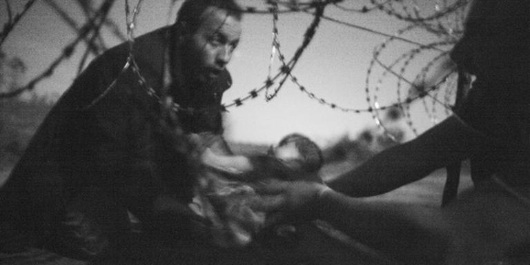 World Press Photo voor foto vluchtelingenbaby