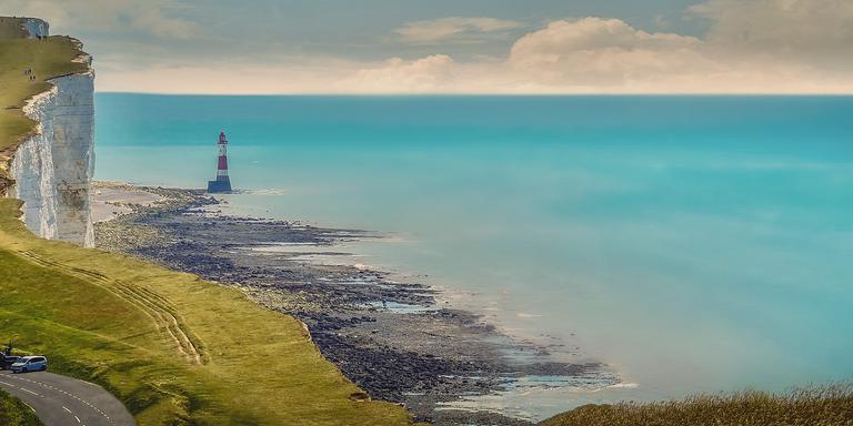 De kustlijn van Eastbourne. FOTO PIXABAY
