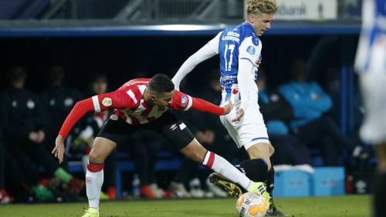 PSV verspeelt ook bij Heerenveen twee punten