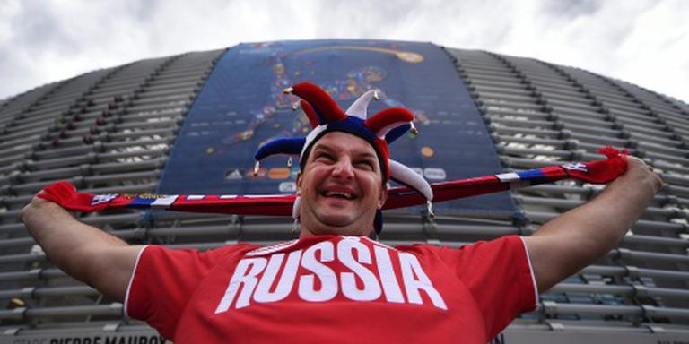 Rusland en Slowakije onder gesloten dak