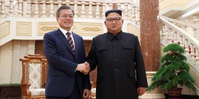 Koreaanse top hartelijk van start