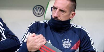 Bayern zonder Ribéry naar Athene