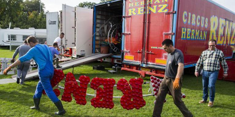 Complete inboedel circus Renz geveild