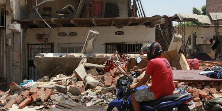 Meer dan 650 doden door aardbevingen Ecuador