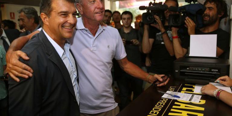 Barcelona: we houden altijd van je, Johan
