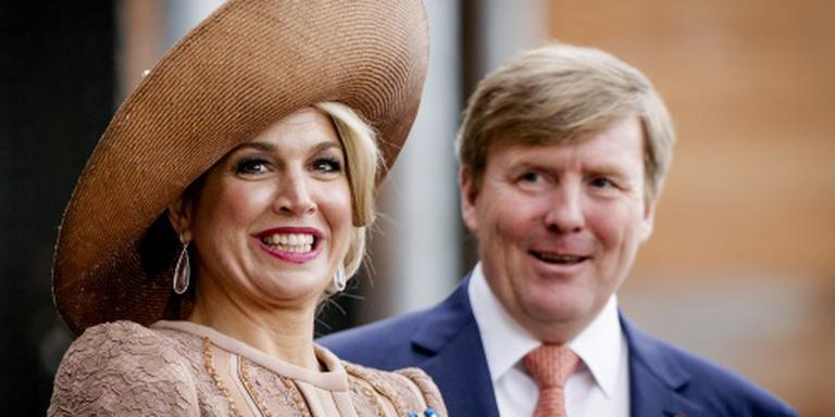 Koning en koningin naar Koningsdagconcert