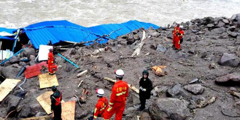 Tientallen doden door aardverschuiving China