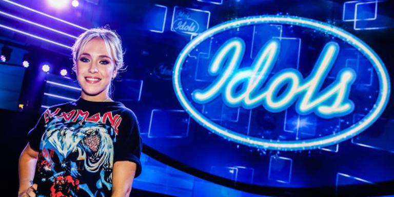 Kimberly kijkt uit naar finale van Idols